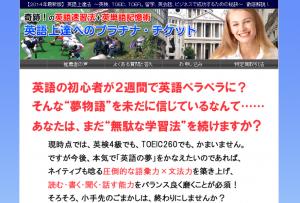 英語上達へのプラチナ・チケット 塚田将之の効果口コミ・評判レビュー