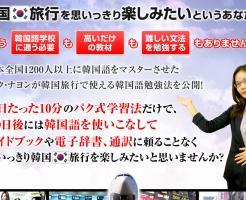 1日10分韓国旅行マスタープログラム パク・ナヨンの効果口コミ・評判レビュー